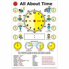 Early Learning All About Time Poster