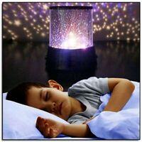 Night Light LED Starry Sky Galaxy Projector Lamp Cosmos Master Romantic Light