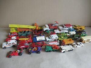 Sammlung alte Matchbox Autos Lastkraftwagen Varia untersch, Serien und Grösse