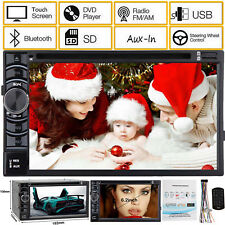 For Toyota Yaris Aygo Auris Car Radio Bluetooth Stereo Double 2 Din DVD Player