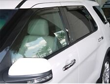 EGR 573631 Set of 4 In-Channel Window Vent Rain Guard Deflectors for Explorer