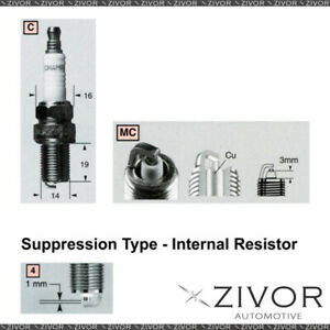 Promising Quality Champion Spark Plug-Set of 2 For MAZDA MPN-RC12MC4 *By Zivor*