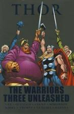 Thor: The Warriors Three Unleashed by Stan Lee and Jack Kirby (2011, Hardcover)