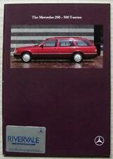 MERCEDES BENZ 200 - 300 T SERIES Sales Brochure 1990 #MKP 6701 0552 02-01/0590