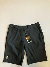 Oregon Ducks Women's Nike Golf Dri-Fit Shorts 747135 NWT Gray Size 8 Puddles