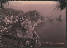 AA5536 Napoli - Provincia - Capri - Panorama dal Monte Solaro - Cartolina