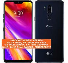 "LG G7 THINQ G710ULM 4gb 64gb Octa-Core 16mp Fingerprint Id 6.1"" Android 8 4g Lte"