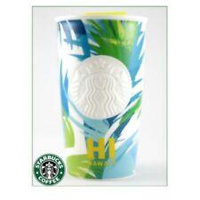 Starbucks Coffee Mug Tumbler Ceramics Pottery Hawaii L/d Aloha 12oz New Rare