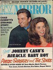 TV Radio Mirror May 1970 Chad Everett, Johnny Cash Gd 042816DBE