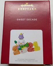 Hallmark 2021 Sweet Decade Christmas Ornament New with Box