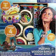 Bracelet Activity Set Disney's Moana Wooden Bangles