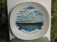 SS VEENDAM HOLLAND AMERICA SHIP DISH PLATE FALCON WARE WEATHERBY HANLEY ENGLAND
