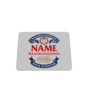 PERSONALISED PERONI STYLE MOUSE MAT