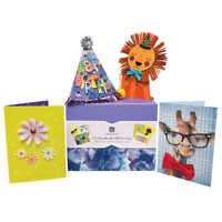 Burgoyne Handmade All Occasion Greeting Cards Collection w/ Organizer 25 Ct