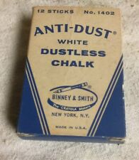 Vintage Binney & Smith anti-dust Dustless Chalk Box