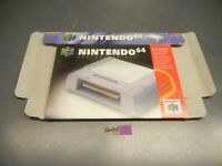 NINTENDO 64 N64 CONTROLLER PAK BOX ONLY