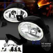 For 2010-2011 Honda CR-V CRV Clear Bumper Fog Lights Pair+Switch+Wiring