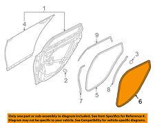 83110B1000RRY Hyundai Wstriprr dr body side lh 83110B1000RRY, New Genuine OEM Pa