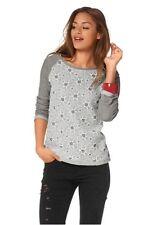 Sweatshirt mit Sternen und Spitze von AJC girls Gr.42 NEU