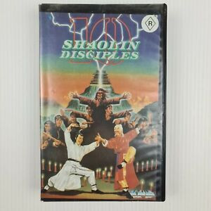 10 Shaolin Disciples VHS Tape - Kung Fu Movie - Elton Chong - TRACKED POSTAGE