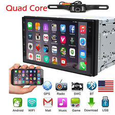 7inch Android 4.4 3g WiFi Double 2din Car Radio Stereo No DVD Player GPS Camera