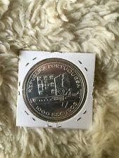 Portugal 1996 - 1000$ Escudos coin - Fragata D. Fernando II e Gloria - UNC