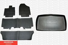 Genuine Honda All Weather Floor Mat Kit And Trunk Tray Fits: 2018-2020 Odyssey