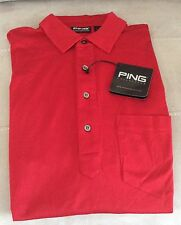 Short Sleeve Loose Fit PING Golf Shirts & Tops for Men