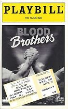 "Stephanie Lawrence ""BLOOD BROTHERS"" Con O'Neill / Willy Russell 1993 Playbill"