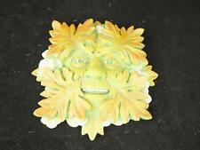 Green Man Wall Plaque Green Woodland.