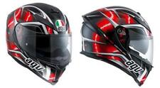 Casco Integrale Moto Agv K-5 K5 S E2205 Multi PLK Hurricane Nero/rosso/bianco ml