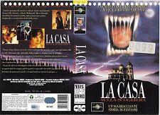 LA CASA SULLA SCOGLIERA (1994) vhs ex noleggio