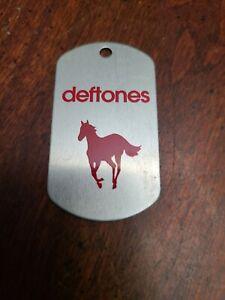 Deftones Promo White Pony Metal Dog tag Key ring