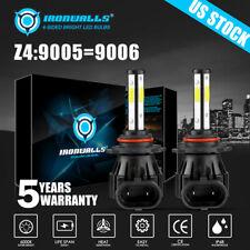 4Side Led Headlight Kit 9006 Hb4 2400W 360000Lm 6000K Low Beam White Bulbs Power