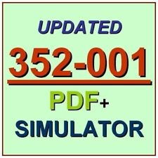 Cisco Certified CCDE Design Expert Test 352-001 ADVDESIGN Exam QA PDF+Simulator