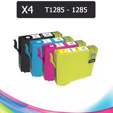 4 Tintas compatible NON OEM EPSON STYLUS SX235W SX130 SX125 BX305F T1281 T1285