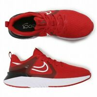 Nike Legend React 2 Running Shoes Red Black White AT1368-600 Men's NEW