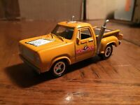 1976 dodge yellow 1/64  monopoly pickup truck JOHNNY LIGHTNING Tennessee ave