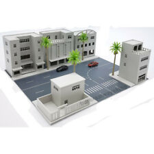 1 Set Models Scenery Layout Modern City Road Homestay 5 Building 1:150 Scale