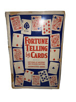 Fortune Telling by Cards 1964 Ottenheimer Softcover Tarot