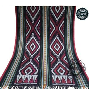 WONDERFUL ETHNIC TORAJA ANTIQUE IKAT WEAVING 100% ORIGINAL INDONESIA HANDMADE