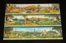U.N. 1996, CITY SUMMIT STRIPS OF 5, MNH, ALL 3 OFFICES, NICE!! LQQK!!!