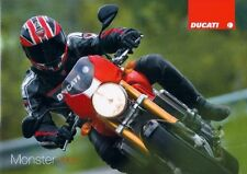 2008 Ducati Monster big 44 page sales Italian catalog