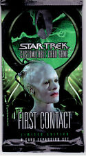 Star Trek CCG Sealed Packets of First Contact 1st Ed Series 9 Cards Per Pack