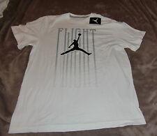 NEW Men's  WHITE AIR JORDAN TEE-Shirt Sz: X-LARGE