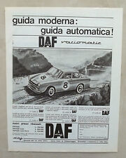 E361-Advertising Pubblicità-1965 - DAF VARIOMATIC