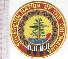 American Indian Tribal Seal Louisiana Chitimacha Sovereign Nation Clarenton LA