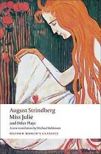 Miss Julie and Other Plays by Johan August Strindberg (Paperback, 2008)