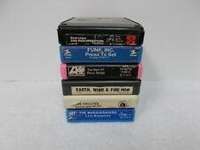 SIX 8 TRACK TAPES - STAIRSTEPS / PERCY SLEDGE / FUNK, INC. / MASQUERADERS