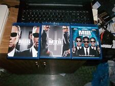 MEN IN BLACK Blu-Ray Disc Lot/Trilogy/Collection 1,2+3 MINT I,II,III Will Smith